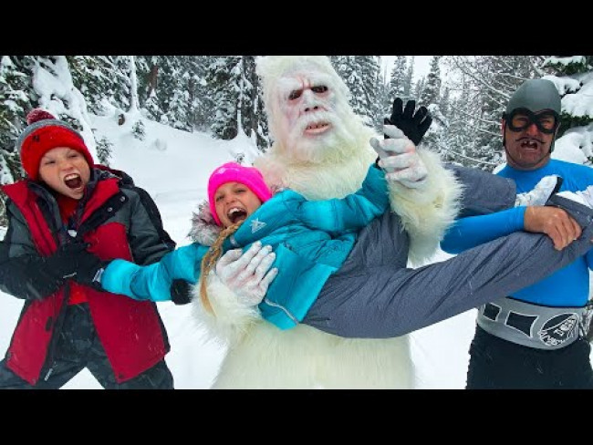 We got Attacked by Yeti in the mountains! Team Up with Aquabats