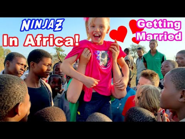 We're Going to Africa! Surprise Adventure!