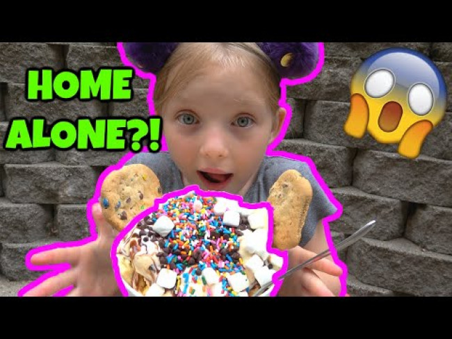WHAT a KID WOULD do HOME ALONE!? KAIA has a CRAZY DAY! The TOYTASTIC SISTERS. FUNNY KIDS SKIT!