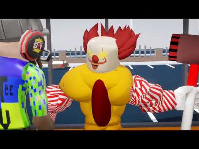 What did our Roblox RONALD - I Want McDonalds Music Video look like the 1st time we tried?