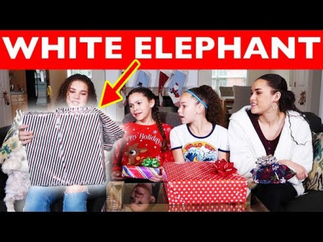 White Elephant | Sister Edition! (Haschak Sisters)