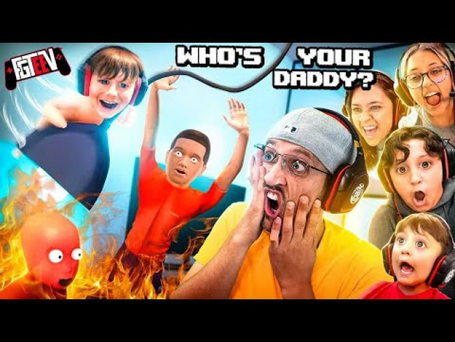 WHO'S YOUR DADDY?  Save the Little Dumb Things! (FGTeeV 6 Player Challenge)