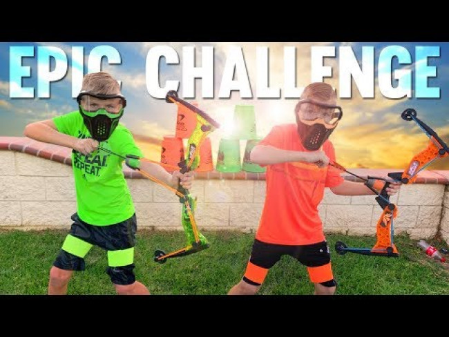 YEET! Twins Extreme Challenge Games Payback Time!