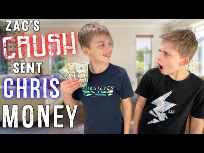 Zac's Crush Sent CHRIS Money!